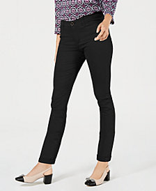 Charter Club Tummy-Control Chino Pants, Created for Macy's