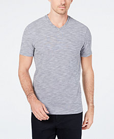 Ryan Seacrest Distinction™ Men's Heathered V-Neck T-Shirt, Created for Macy's