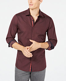 Ryan Seacrest Distinction™ Men's Micro Tile Print Shirt, Created for Macy's