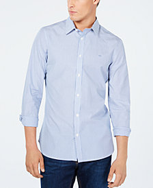 Calvin Klein Men's Slim-Fit Striped Shirt