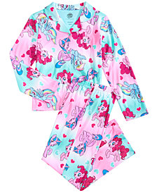 My Little Pony Little & Big Girls 2-Pc. Printed Pajama Set