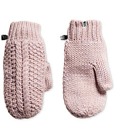 The North Face Cable Minna Mitt Fleece-Lined Mittens