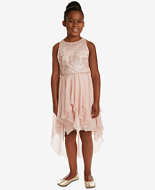 Rare Editions Big Girls Sequin Embroidered Dress