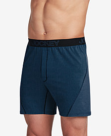 Jockey Men's Knit No-Bunch Boxers