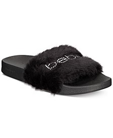 Furiosa Women's Fluffy Slide Sandals