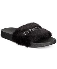 bebe Furiosa Slide Sandals