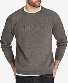 Weatherproof Vintage Men's Logo Embossed Raglan-Sleeve Sweater