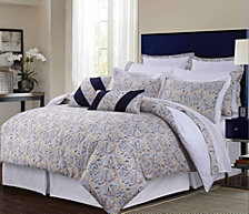 Tribeca Living Fiji 12-Pc. Cotton Queen Comforter Set
