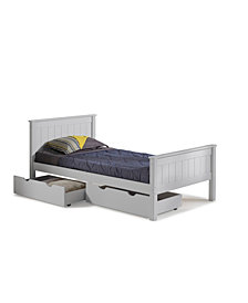 Harmony Twin Bed with Storage Drawers