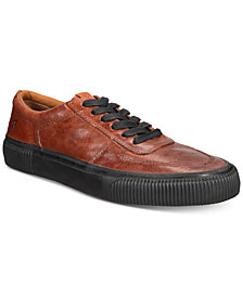Frye Men's Shawn Low Leather Sneakers, Created for Macy's