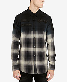Buffalo David Bitton Men's Slim Fit Plaid Silvont Shirt
