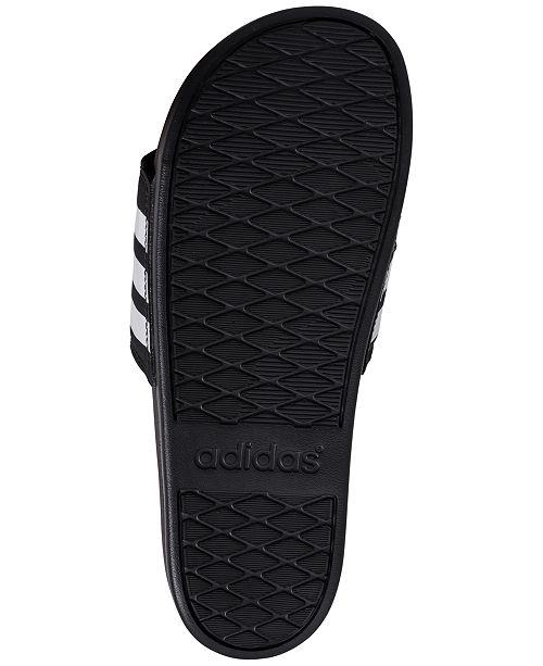 reputable site 48577 89816 adidas Mens Adilette Comfort Slide Sandals from Finish ...