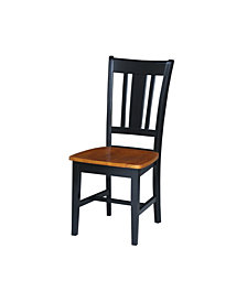 San Remo Splatback Chair, Set of 2