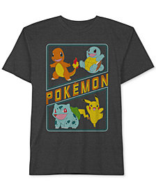 Pokémon Big Boys Squad Graphic T-Shirt