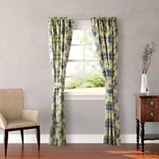 Laura Ashley Linley Yellow Rod Pocket Window Panels
