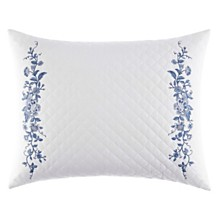Laura Ashley Charlotte Blue Breakfast Pillow
