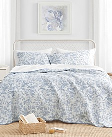 King Amberley Quilt Set