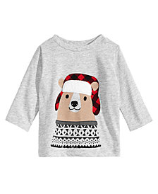 First Impressions Toddler Boys Hunting Bear Graphic T-Shirt, Created for Macy's
