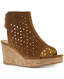 Kenneth Cole Little & Big Girls Corrine Wedge Sandals