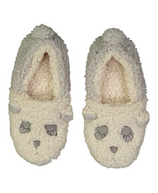 Lemon Plush Critter Slippers