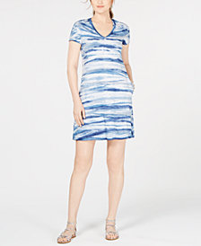 Karen Kane Quinn Tie-Dyed A-Line Dress