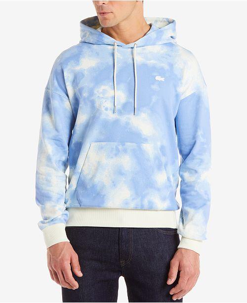 4e583e9c60906 Lacoste Men s LIVE Cloud Pullover Sweatshirt   Reviews - Hoodies ...