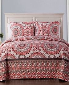 VCNY Home Phoebe Medallion Quilt Set Collection