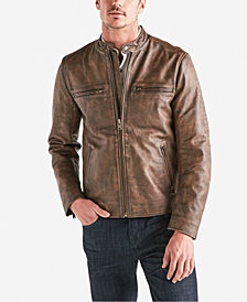 Lucky Brand Men's Vintage Leather Jacket