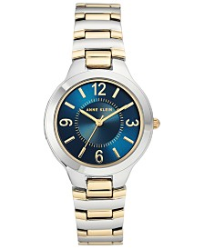 Anne Klein Women's Two-Tone Bracelet Watch 32mm