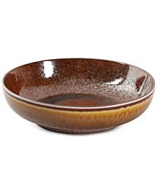 Reactive Glaze Spice Pasta Bowl