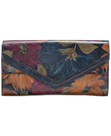 Patricia Nash Lipari Leather Clutch