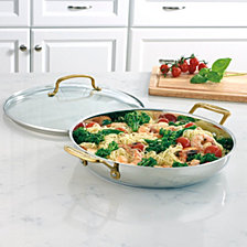 "Cuisinart Mineral Collection 12"" Stainless Everyday Pan"