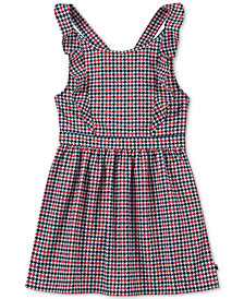 Tommy Hilfiger Big Girls Houndstooth Ponté-Knit Dress
