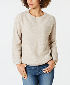 Style & Co Petite Marl-Stitch Sweater, Created for Macy's