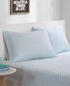Intelligent Design Cotton Blend Jersey Knit 4-PC Queen Sheet Set