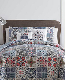 VCNY Home Azure Reversible 4-Pc. Twin XL Comforter Set
