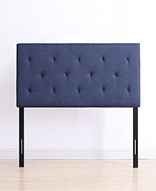 Full-Size Upholstered Tufted Rectangular Headboard