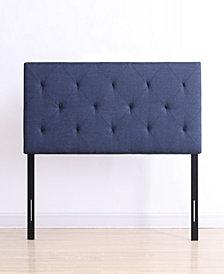 Full-Size Upholstered Tufted Rectangular Headboard