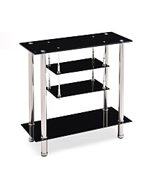 "39.4"" Wide Glass TV Stand"