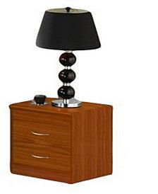 2-Drawer Nightstand in Cherry