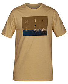 Hurley Men's Breaking Set Graphic Cotton T-Shirt