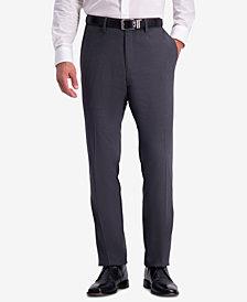 Kenneth Cole Reaction Men's Slim-Fit Shadow Check Dress Pants