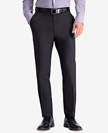Men's Slim-Fit Stretch Premium Textured Weave Dress Pants