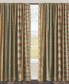 "Country Sage 84"" Black Out Window Curtain"