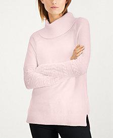 Calvin Klein Cowl-Neck Sweater