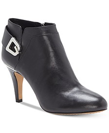 Women's Vernaya Heeled Buckle Dress Booties