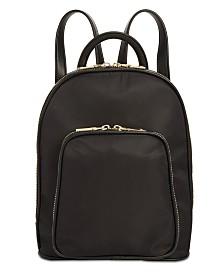 I.N.C. Farahh Nylon Backpack, Created for Macy's