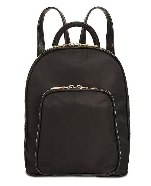 INC International Concepts I.N.C. Farahh Nylon Backpack, Created for Macy's