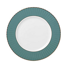 Lenox Pleated Colors Teal Salad Plate