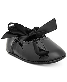 First Impressions Baby Girls Patent Ballet Flats, Created for Macy's